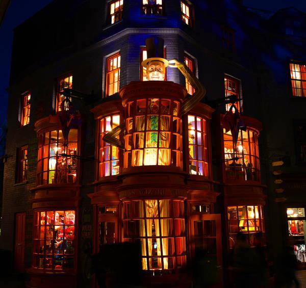 Wizard Hat Wall Art - Photograph - Weasleys Wizard Shop by David Lee Thompson