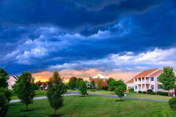 Subdivision Photograph - Weather by Alexey Stiop