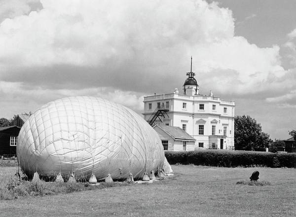 The Weather Photograph - Weather Balloon by British Crown Copyright, The Met Office / Science Photo Library