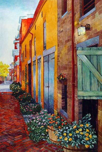 Weathered Door Rustic Path Art Print