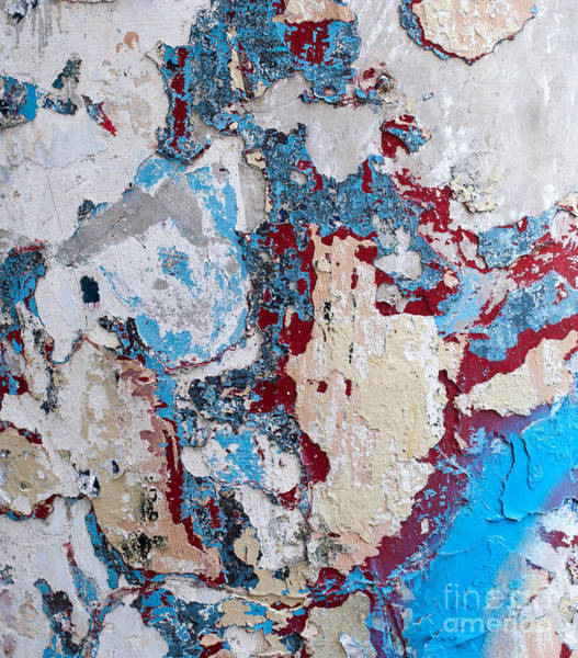 Rick Piper Photograph - Weathered Wall 02 by Rick Piper Photography