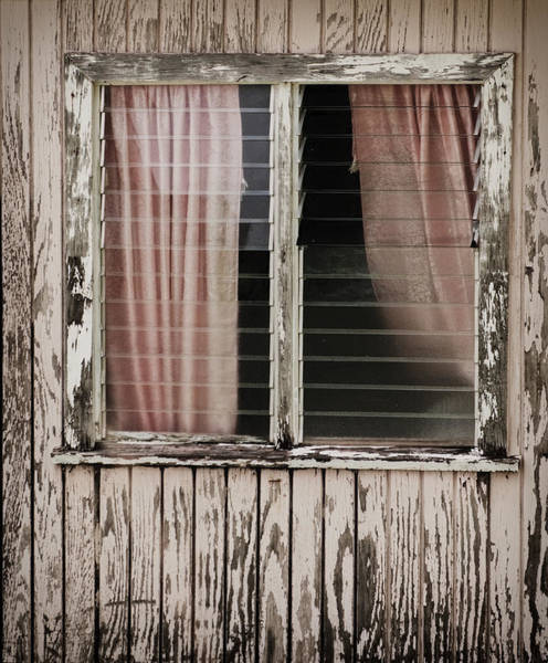Photograph - Weathered Window by Gary Slawsky