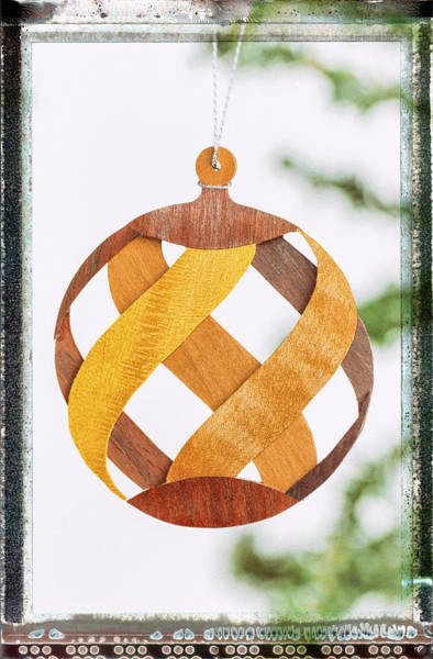 Photograph - Weave Holiday Ornament Image Art by Jo Ann Tomaselli