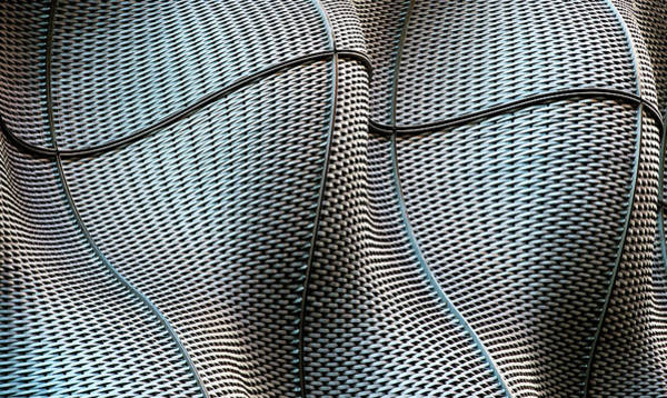 Metal Wall Art - Photograph - Weave by Linda Wride