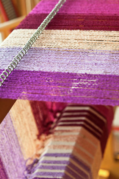 Weaving Photograph - Weaving Loom by Lucidio Studio Inc