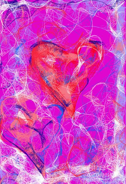 Digital Art - Web Of Love by Ilona Svetluska