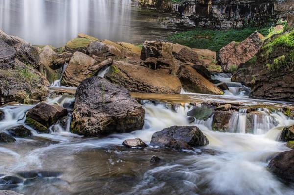 Photograph - Webster Falls by Garvin Hunter