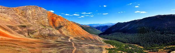 Photograph - Webster Pass Colorado by OLena Art - Lena Owens
