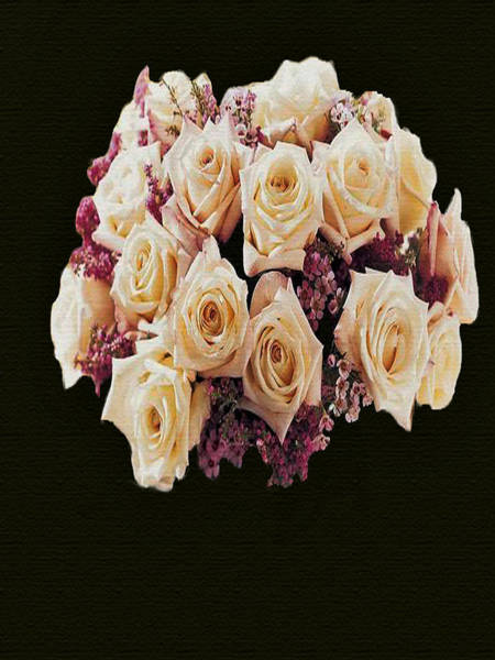 Painting - Wedding Bouquet by Dennis Buckman