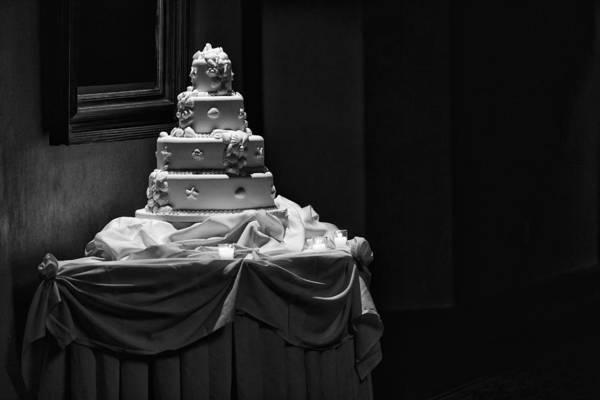 Wedding Cake Photograph - Wedding Cake by Rick Berk