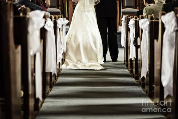Photograph - Wedding In Church by Elena Elisseeva