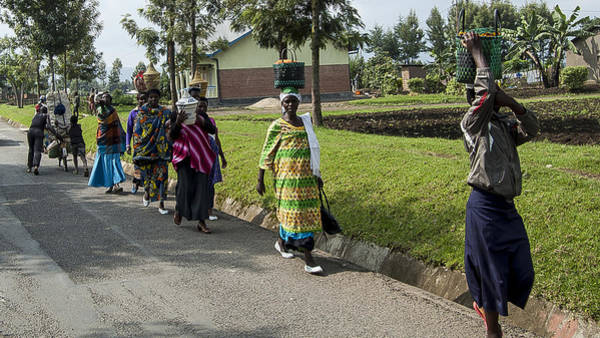 Kigali Wall Art - Photograph - Wedding Party by Paul Weaver