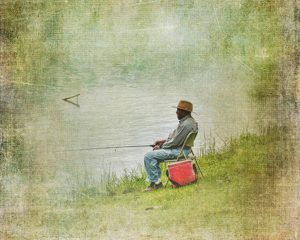 Fishing Wall Art - Photograph - Wednesday Afternoon by Jai Johnson