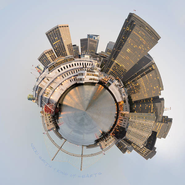Wall Art - Photograph - Wee San Francisco Planet by Nikki Marie Smith