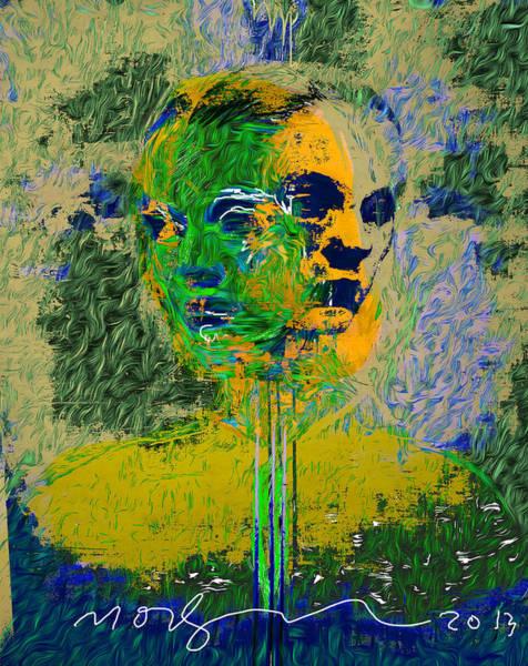 Wall Art - Painting - Weeds Never Die by Noredin Morgan