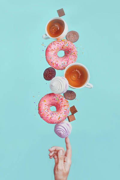 Dessert Photograph - Weekend Donuts by Dina Belenko
