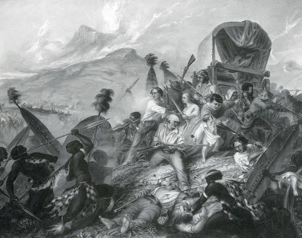 Wall Art - Photograph - Weenen Massacre, Zulu Slaughter by Science Source