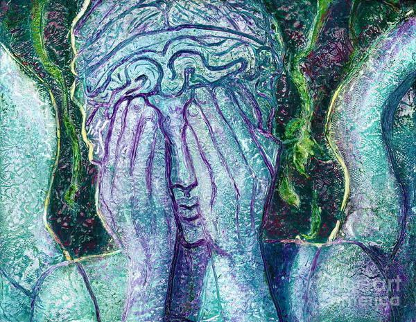 Bbc Painting - Weeping Angel by D Renee Wilson