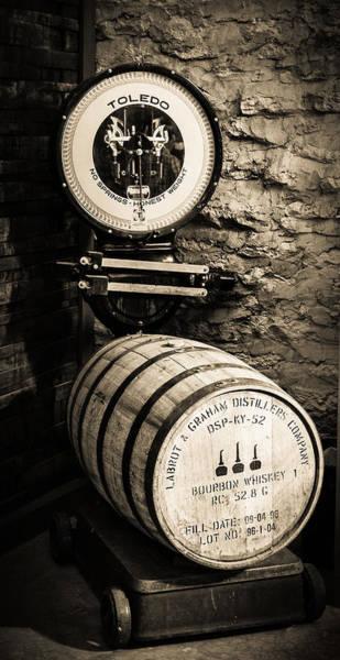 Distillery Photograph - Weighing In by Karen Varnas