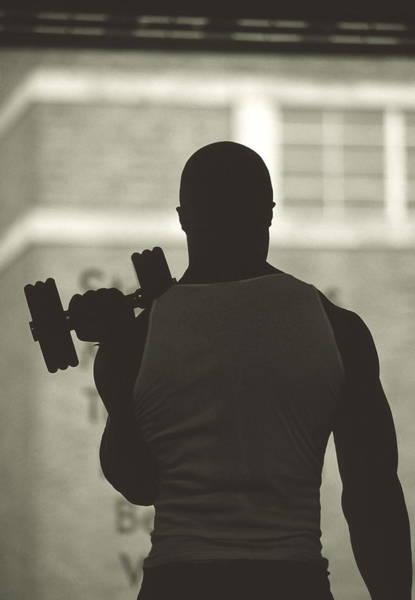 Weight Training Art Print
