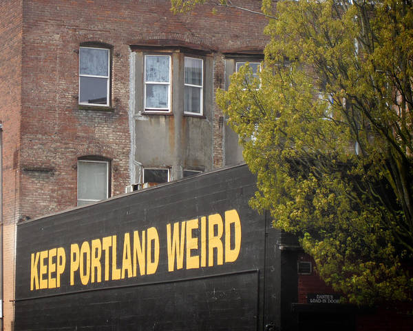 Photograph - Weird Portland by Nancy Ingersoll