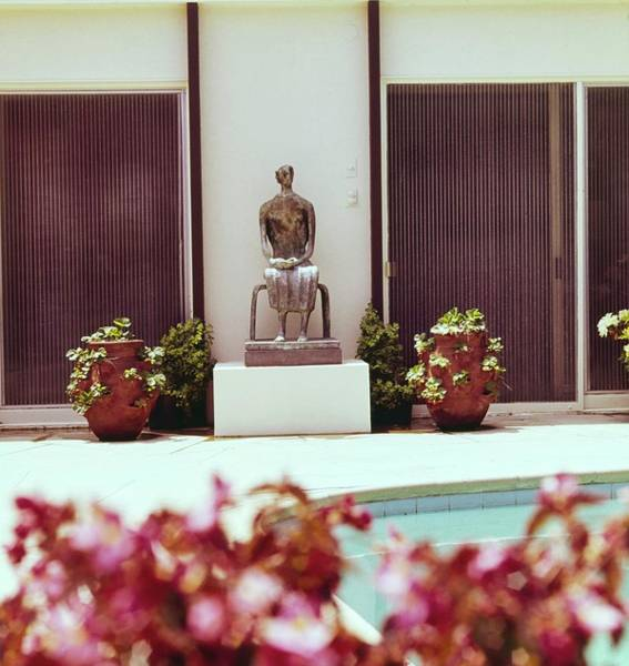 Modernist Photograph - Weisman's Patio by Horst P. Horst