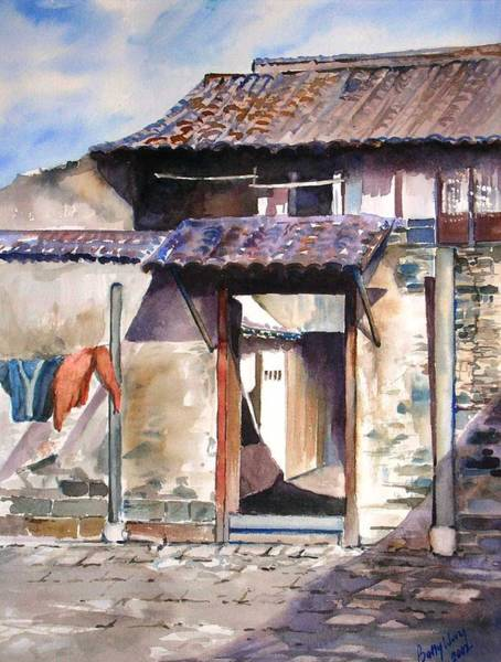 Painting - Welcome by Betty M M Wong