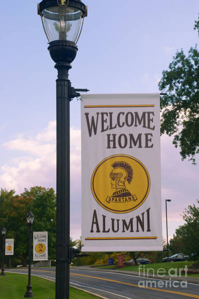 Photograph - Welcome Home Banner by Mark Dodd