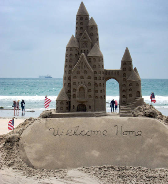 Coronado Photograph - Welcome Home by Mary Lee Dereske