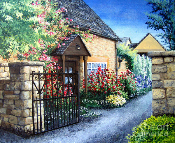 Painting - Welcome Home by Mary Palmer