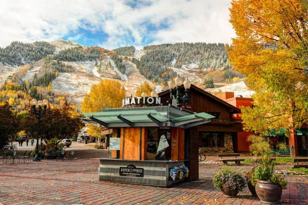 Photograph - Welcome To Aspen In The Fall by Gregory Ballos