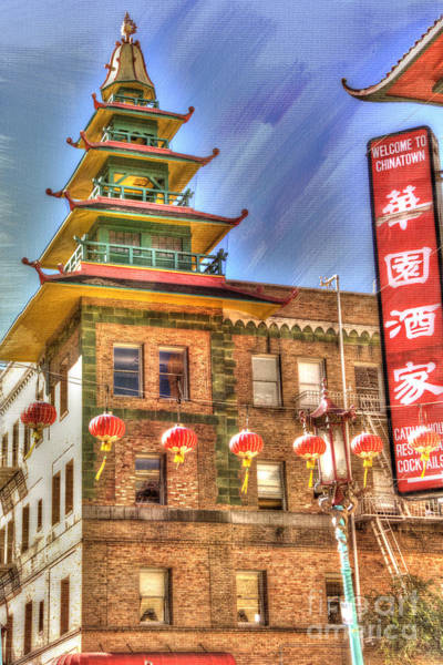 Architectural Details Photograph - Welcome To Chinatown by Juli Scalzi