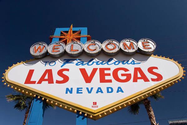 Boulevard Photograph - Welcome To Fabulous Las Vegas Nevada by Dennis K. Johnson