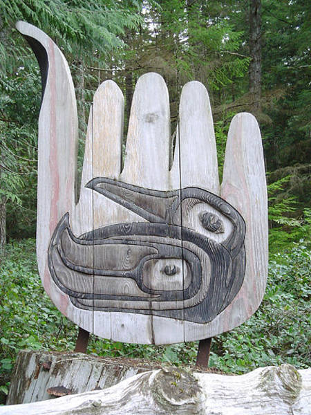 Wall Art - Sculpture - Welcome To House Of Raven Clan by Teddy n Laurie Mahood