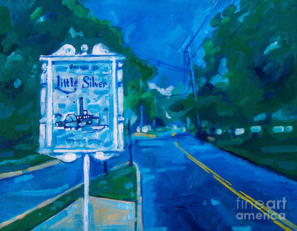 Painting - Welcome To Little Silver by Michael Ciccotello