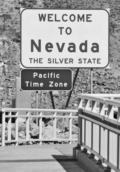Wall Art - Photograph - Welcome To Nevada by Ricky Barnard