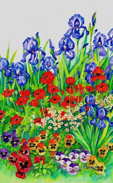 Painting - Welcome To Springtime by Val Stokes