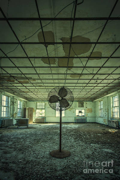 Derelict Wall Art - Photograph - Welcome To The Asylum by Evelina Kremsdorf