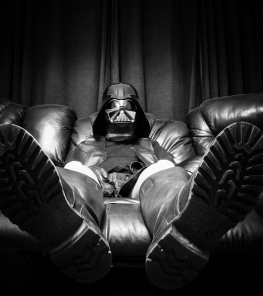 Darkside Photograph - Come To The Dark Side We Have Recliners by Randy Turnbow