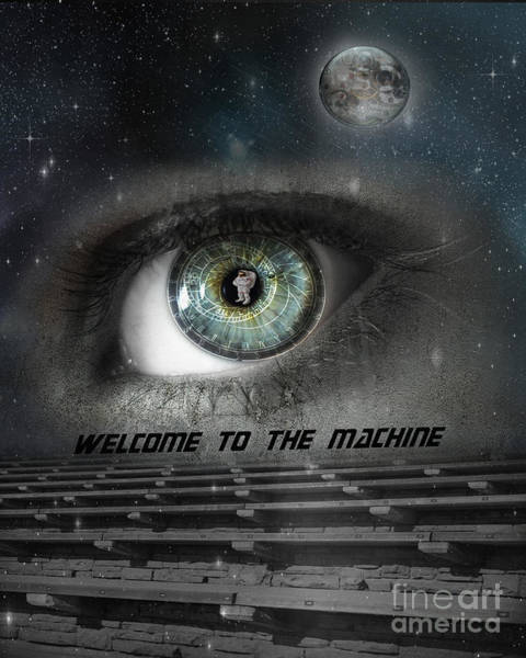 Astronomical Wall Art - Photograph - Welcome To The Machine by Juli Scalzi