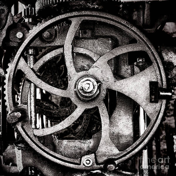 Wall Art - Photograph - Welcome To The Machine by Olivier Le Queinec