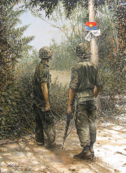 Vietnamese Painting - Welcome To The Neighborhood by Bob  George