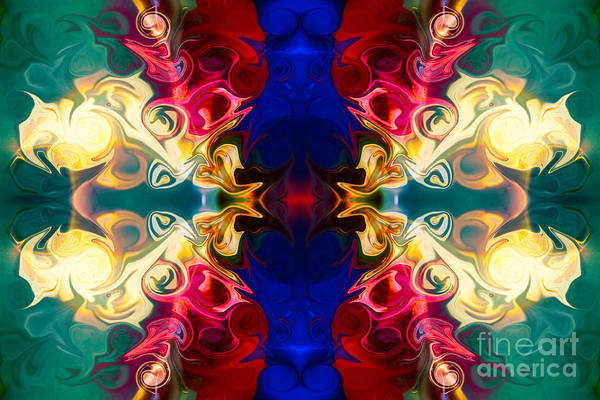 Digital Art - Welcoming A New Reality Abstract Pattern Artwork By Omaste Witko by Omaste Witkowski
