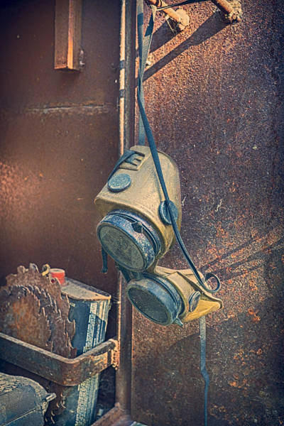 Photograph - Welding Goggles  by Trever Miller