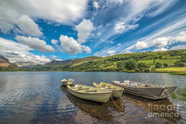 Photograph - Welsh Boats by Adrian Evans