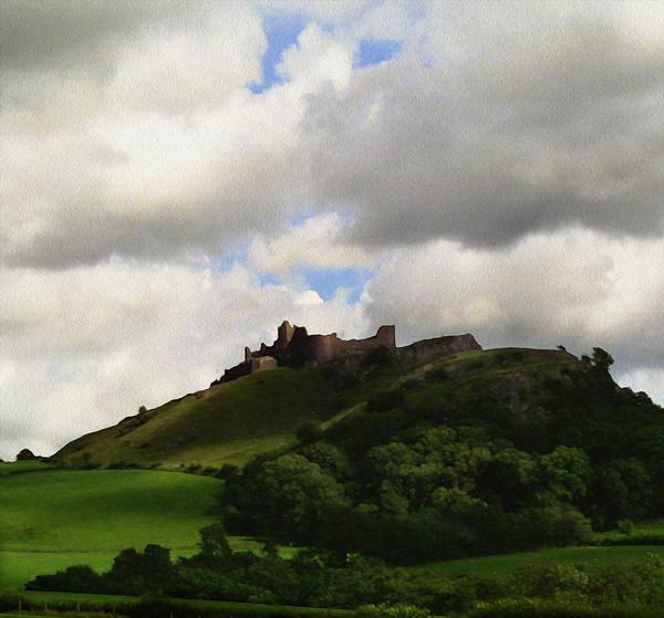 Wall Art - Digital Art - Welsh Castle by Anthony Forster