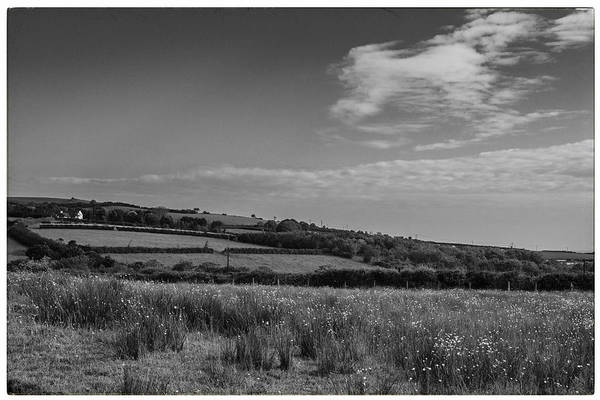 Photograph - Welsh Countryside In Mono by Georgia Fowler