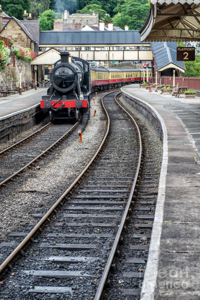 Loco Wall Art - Photograph - Welsh Railway by Adrian Evans