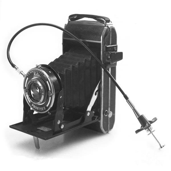 Photograph - Welta Garant Folding Camera Late 1930s by Paul Cowan