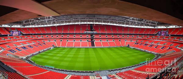 Photograph - Wembely Stadium by Andy Myatt